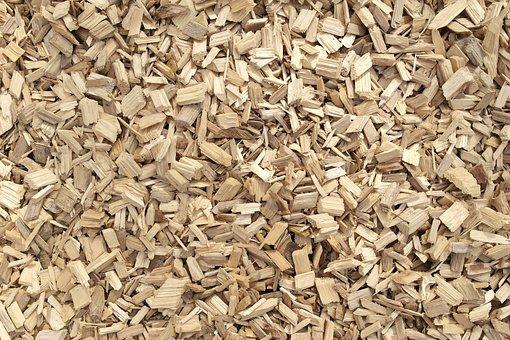 Timber, Woodchip, Warped Timber, Texture, Ground