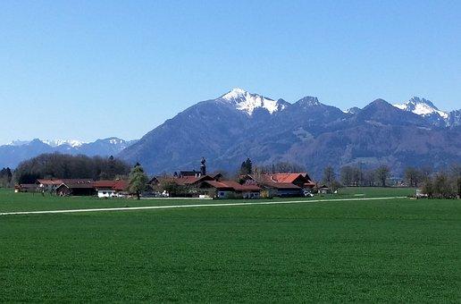 Chiemgau, Chiemgau Alps, Overseas