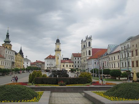Slovakia, Center, Buildings, Banska Bystrica