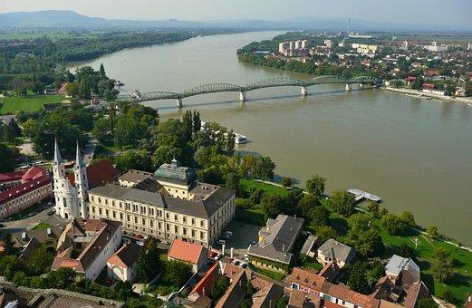 štúrovo, Esztergom, Temple, Church, Basilica, Bridge