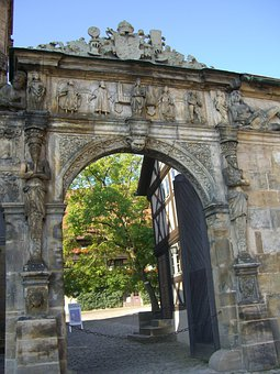 Beautiful Gate, Archway, Input, Old Royal Household