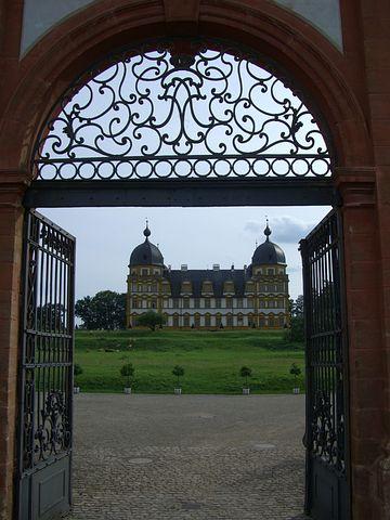 Memmelsdorf, Schloss Seehof, Goal, Archway