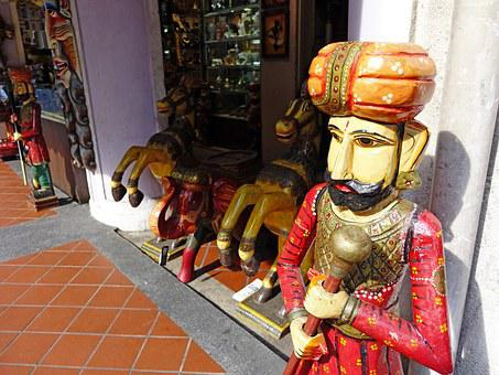 Singapore, India, Traditional, Handicrafts, Hand Made