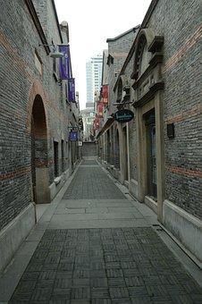 China, Xintiandi, Shanghai, Shopping Center, Shopping