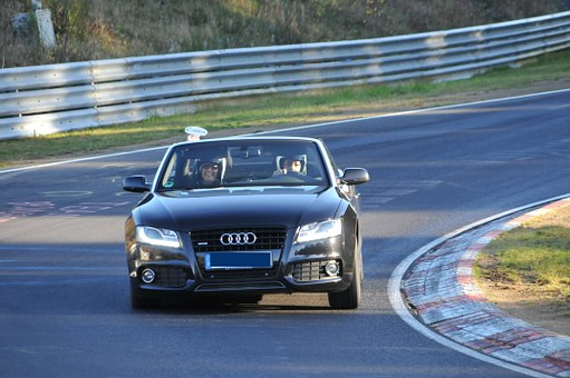 Sabine Schitz, Nordschleife, Eifel, Auto, Audi