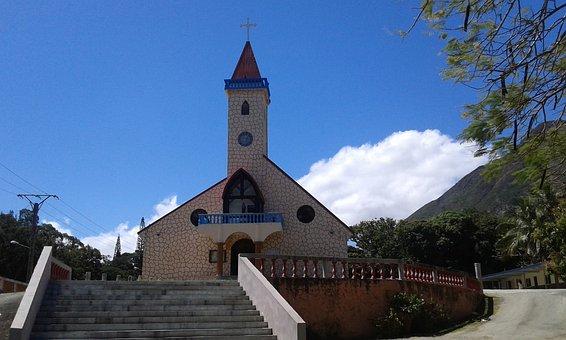 Church, Prayer, Church Of Plum, New Caledonia, Religion