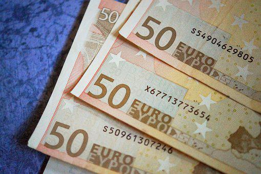 Money, Euros, Currency, Seem, Bank Note, Euro Notes, 50