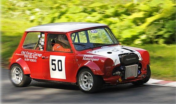 Mini, Hill Climb, Racing Car, Vehicle, Automobiles