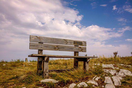 Nature, Bench, Sky, Travel, Relax, Enjoy, Moment, Peace