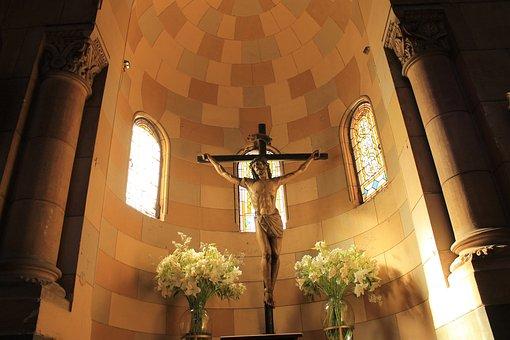 Chile, Church, Christ, Santiago, Religion, Sculpture