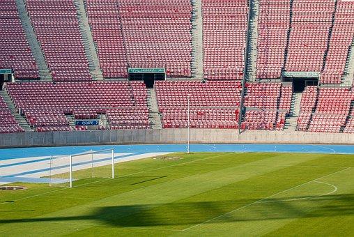 Stadium, Soccer, Santiago, Lawn, Sports