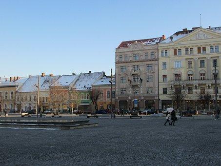 Cluj Napoca, Old Town, Buildings, Transylvania, Romania