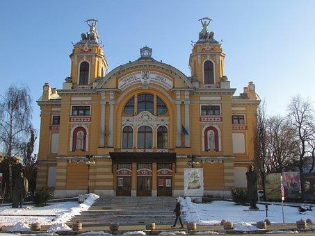 Tear, City, Cluj Napoca, Transylvania, Romania