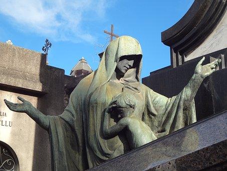 Tomb Art, Sculpture, Cemetery, Recoleta Cemetery