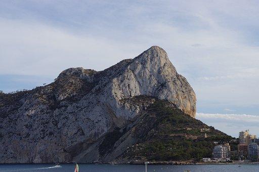 Calpe Rock, Calpe, Alicante, Beach, Nature, Spain