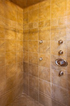 Shower, Tile, Bathroom, Interior, Luxury, Tiled, Bath