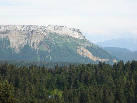 Mont Revard, Aix Les Bains, Mountain, Landscape, Nature