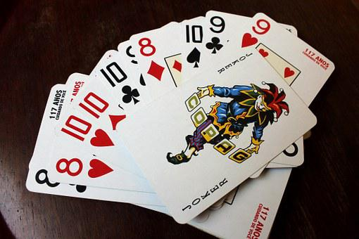Card Game, Deck, Letters, Game, Wildcard, Joker, Suits