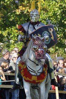 Romans, Cavalry, Warrior, Fight, Horse, Roman Days