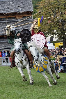 Reiter, Romans, Fight, Ride, Horses, Cavalry, Shield