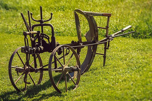 Plough, Old Device, Agriculture, Nostalgic, Rusty