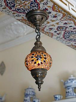 Moroccan, Turkish, Lighting, Bright, Decoration, Design