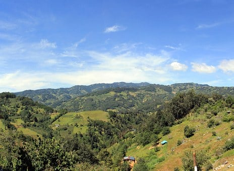 Landscapes, Tehuipango, Sierra De Zongolica, Orizaba