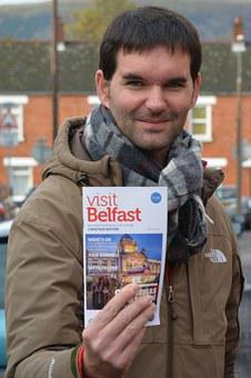 People, Tour Guide, Travel Guide, Man, Tourist, Belfast