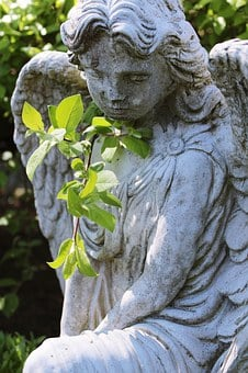 Angel, Statue, Nature, Cemetery, Grave, Mourning, Death