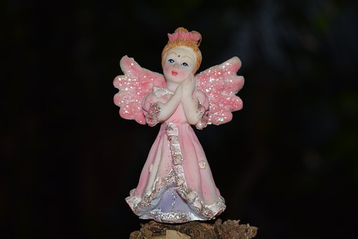 Angel, Angel Doll, Angel With Wings, Doll, Cute, Girl