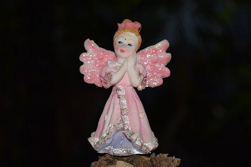 Angel, Angel Doll, Angel With Wings, Doll, Cute, Girl