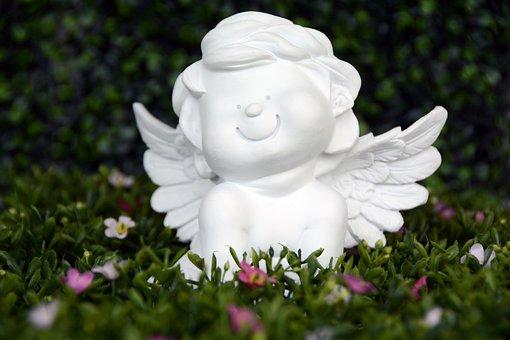 Angel, Guardian Angel, Wing, Satisfied, Smile, Happy