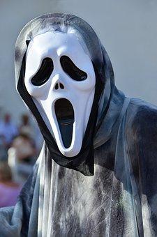 Haloween, Mask, Ghost, Fear, Skull, Yell, Film, Horror