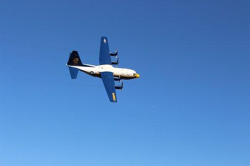 Blue Angels, Marines, Airplane, Airshow, Military