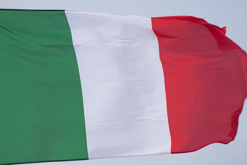 Flag, Italy, Green, White, Red, Tricolor, National Flag