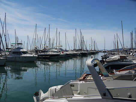 Port, Jetty, Mediterranean, France, Marina