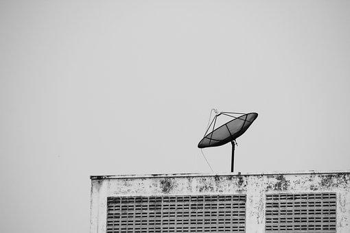 Satellite, Communication, Radio, Delivery, Antennas