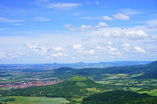 Glider Pilot, Swabian Alb, Weilheim At Teck, Limburg