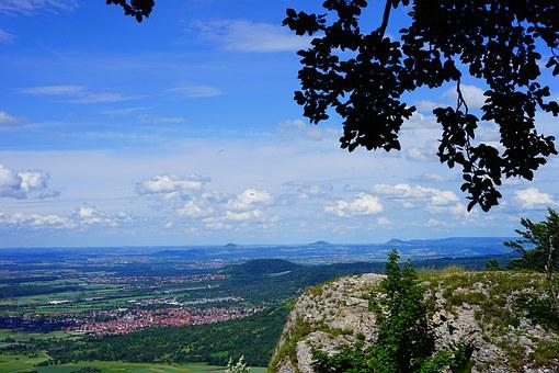Breitenstein, View, Swabian Alb, Weilheim