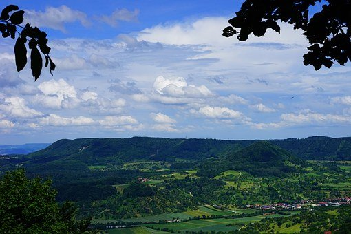Swabian Alb, Witness Mountain, Viewpoint, Mörike Rock