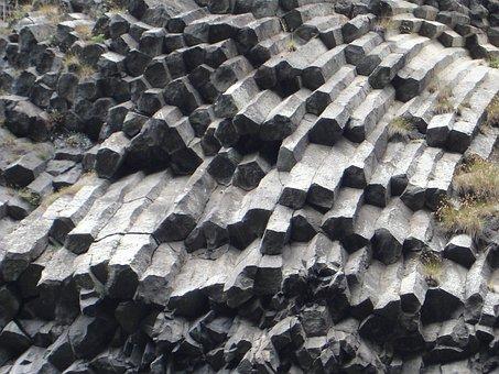 Basalt, Basalt Column, Columnar Basalt