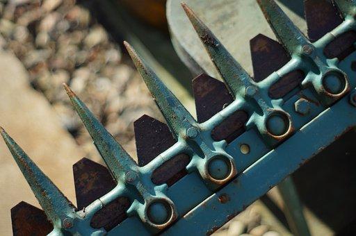 Machinery, Gardening, Field, Mechanical, Tractor
