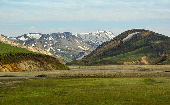 Iceland, Landmanalaugar, Volcanism, Landscape