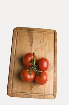 Tomato, Red, Bush Tomato, Vegetables, Food, Vegetarian