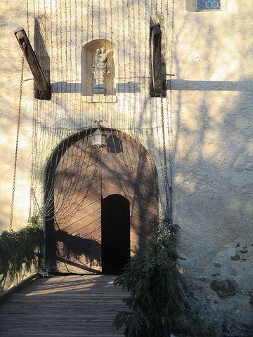 Gate, Schloss Hagenwil, Thurgau, Switzerland