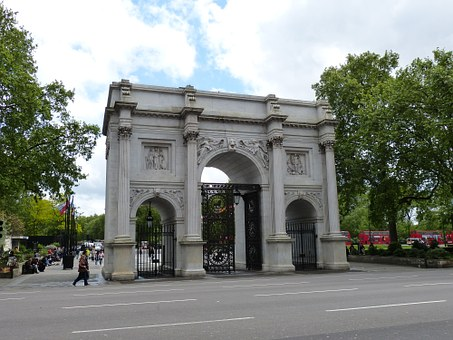 Marble Arch, Arch, England, London, United Kingdom