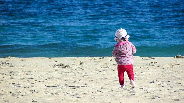 Child, Baby, Girl, Kid, Happy, Little, Childhood, Beach