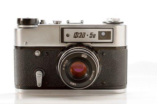 Camera, Russian, Analog, Analog Camera, Old Camera, Old
