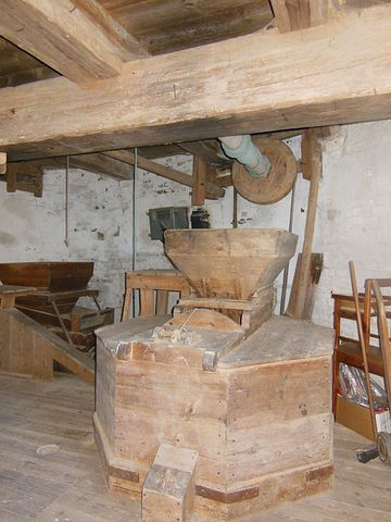 Old Windmill, Dyrhave Mill, Interior, Old Profession