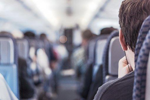 Passenger, Airplane Passenger, Train, Public Transport
